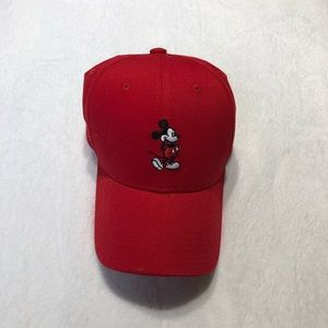 Accessories - Red Mickey Mouse baseball cap